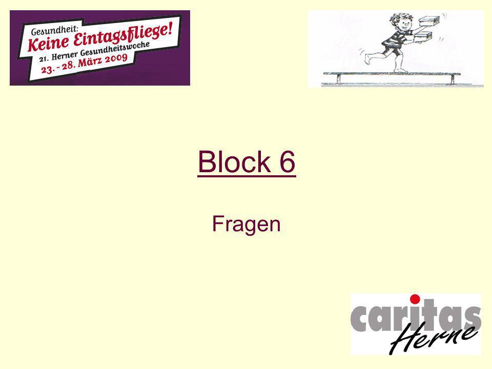 Block 6 Fragen