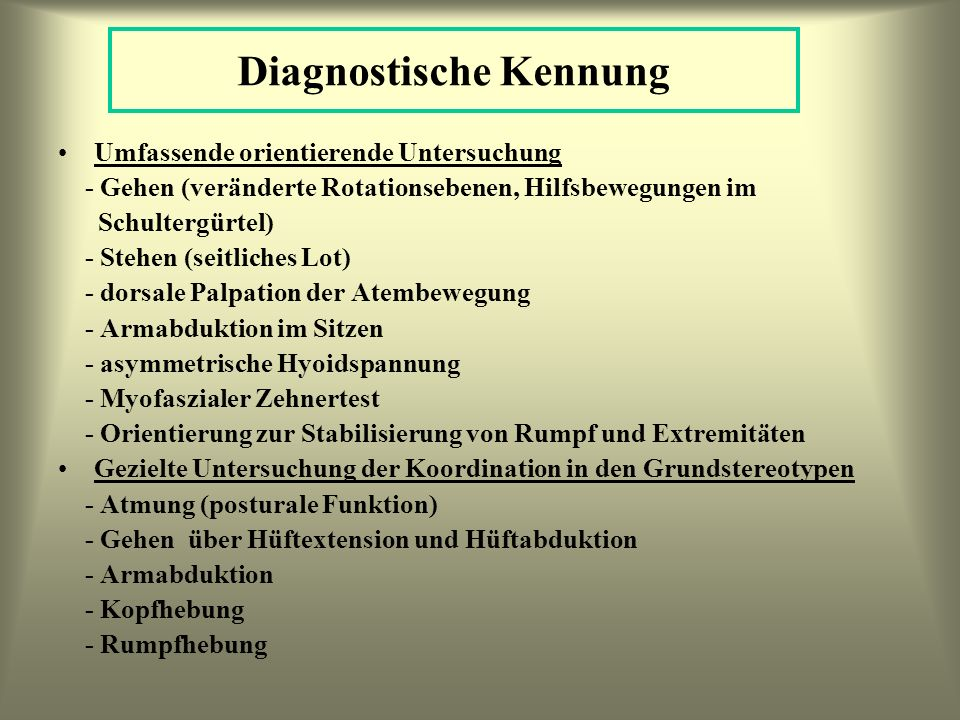 Diagnostische Kennung