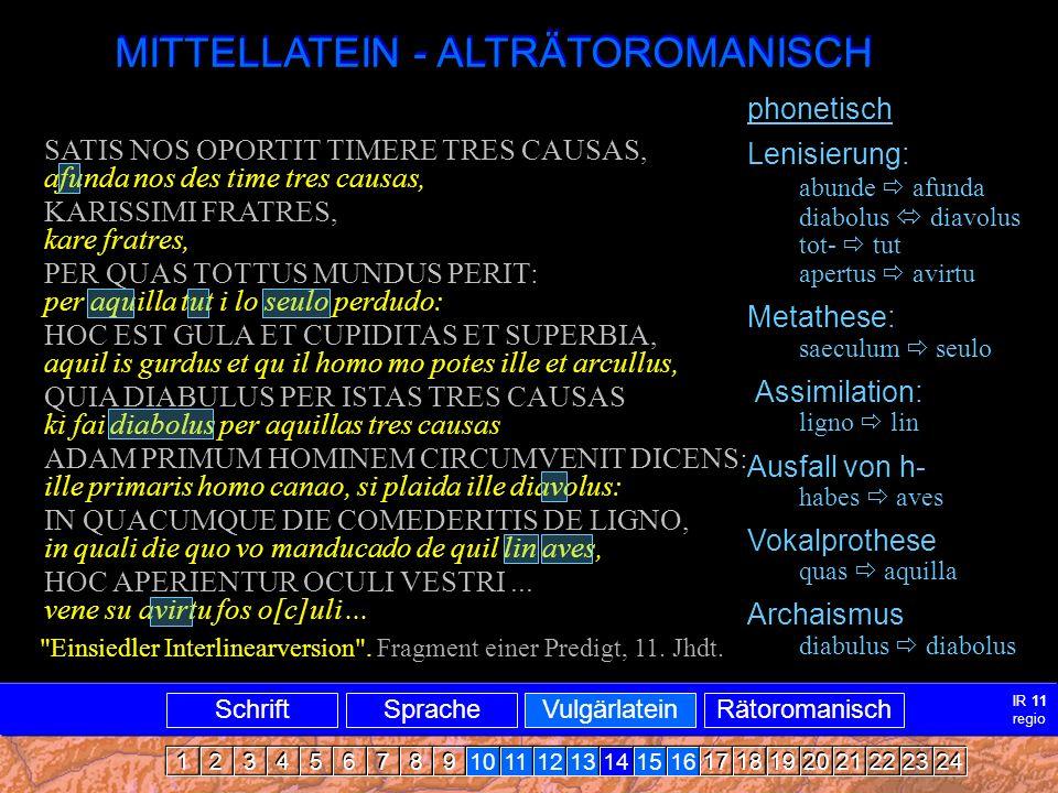 Mittellatein-ARRomanisch2