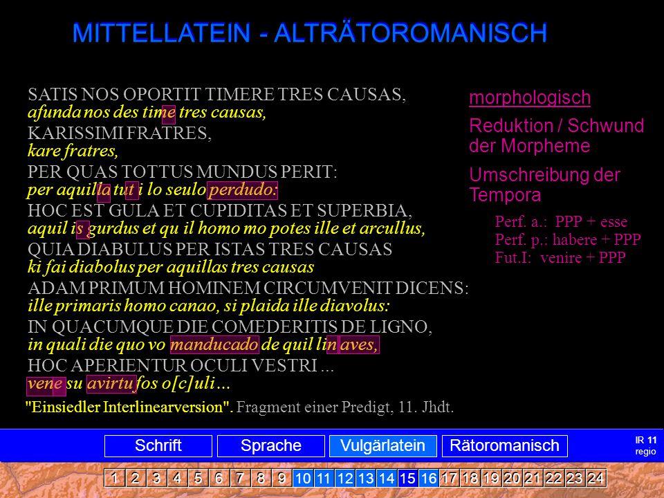 Mittellatein-ARRomanisch3