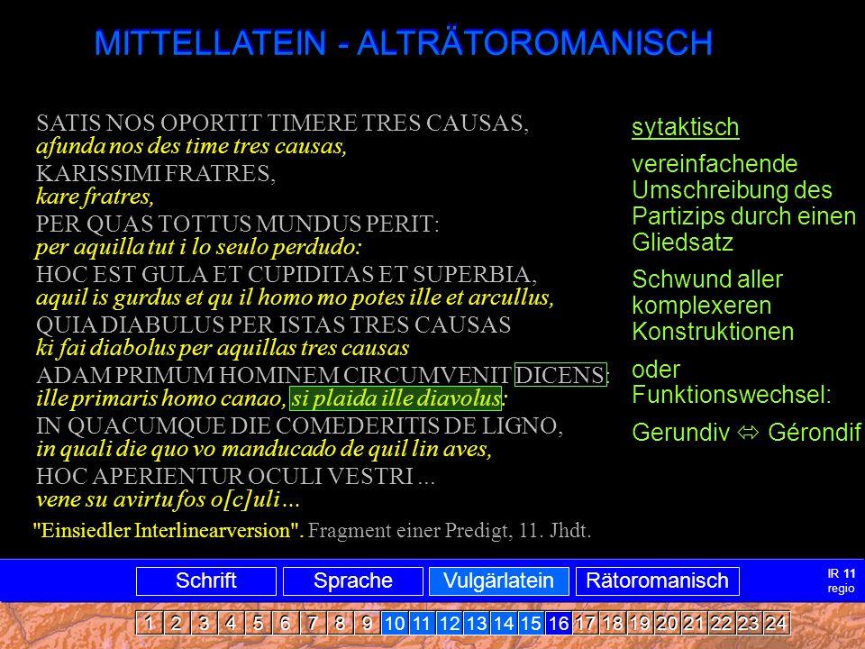 Mittellatein-ARRomanisch4