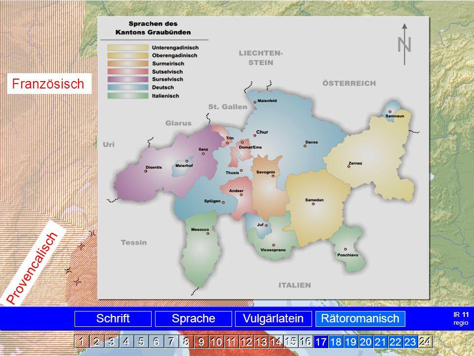 Alpenromanisch Karte Die Romania ~ 1000
