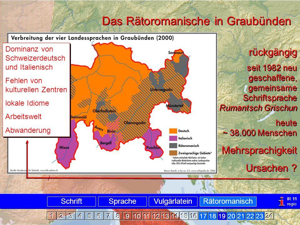 Rätoromanisch Graubünden