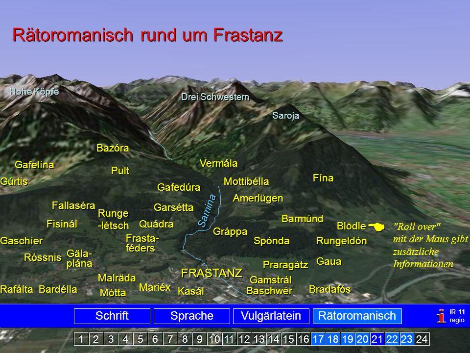 Rätoromanisch Frastanz1