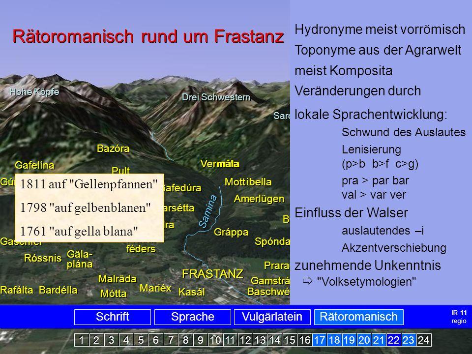 Rätoromanisch Frastanz2