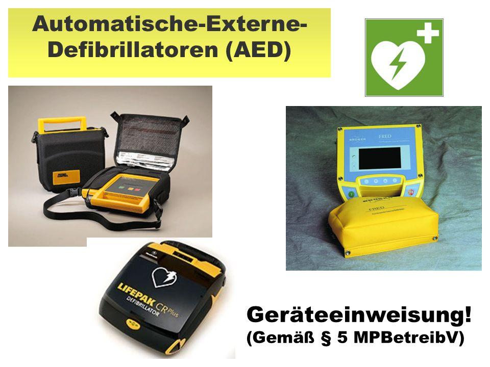 Automatische-Externe-Defibrillatoren (AED)