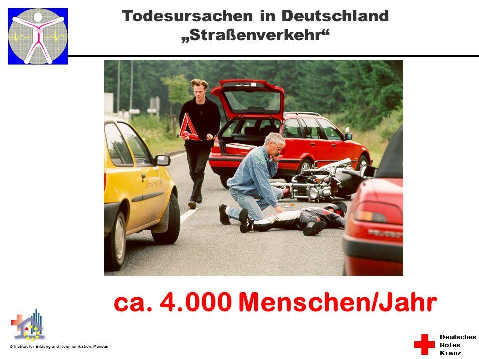 """Todesursachen in Deutschland """"Straßenverkehr"""