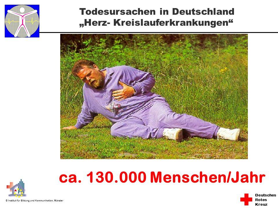 """* 16.07.96 Todesursachen in Deutschland """"Herz- Kreislauferkrankungen ca. 130.000 Menschen/Jahr *"""