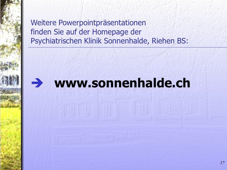 www.sonnenhalde.ch Weitere Powerpointpräsentationen