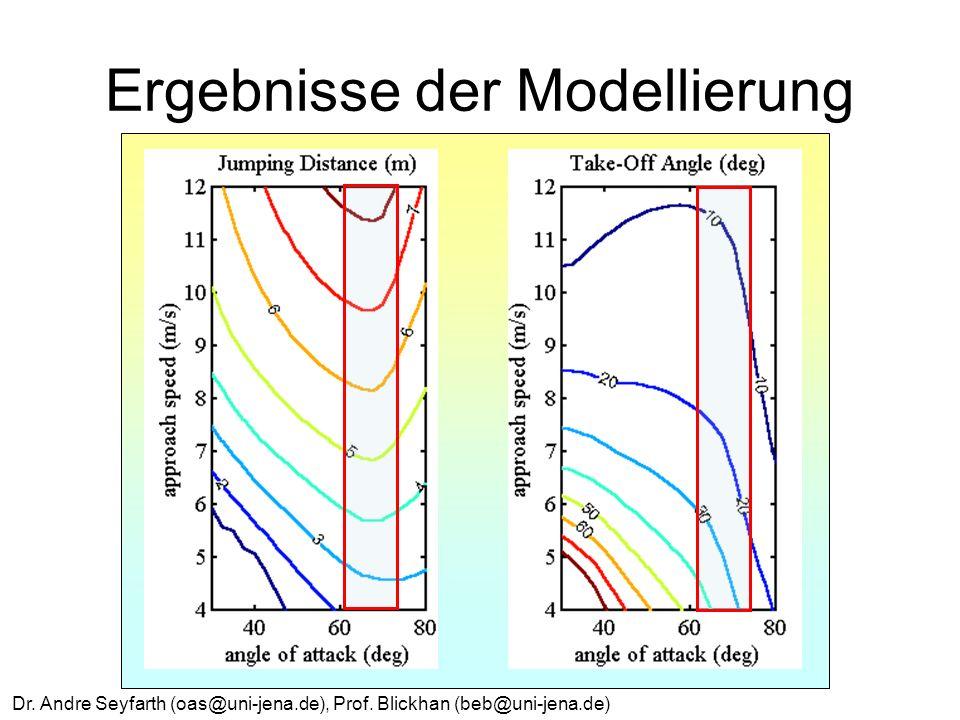 Ergebnisse der Modellierung