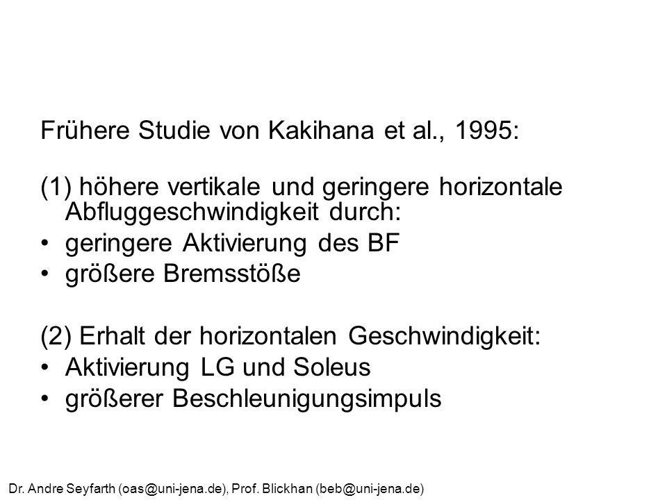 Frühere Studie von Kakihana et al., 1995:
