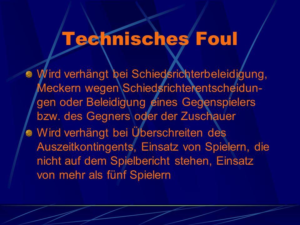 Technisches Foul