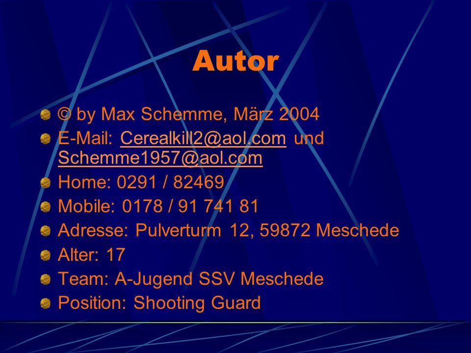 Autor © by Max Schemme, März 2004