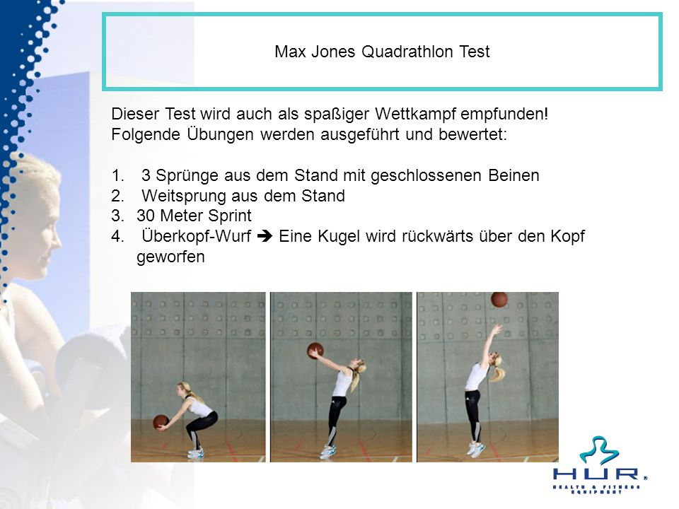 Max Jones Quadrathlon Test
