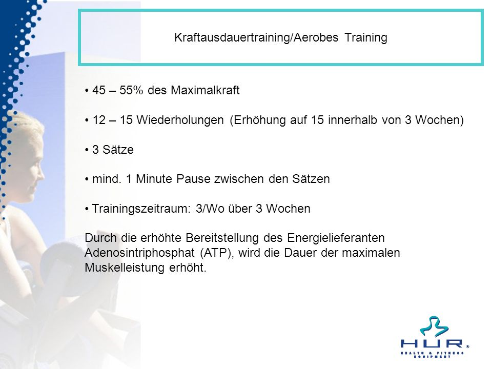 Kraftausdauertraining/Aerobes Training