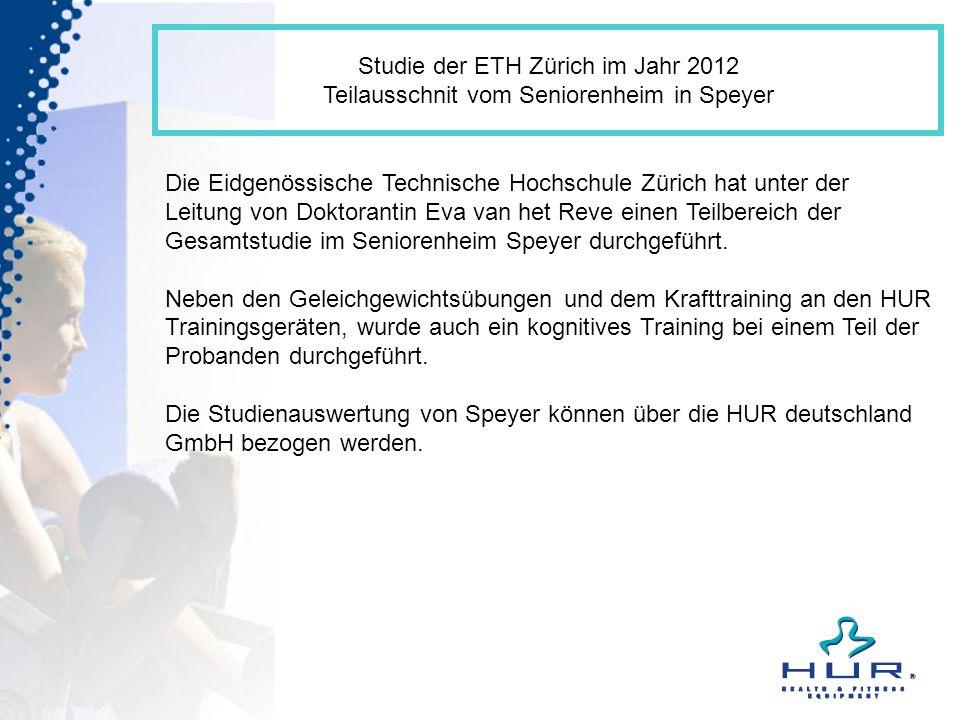 Studie der ETH Zürich im Jahr 2012