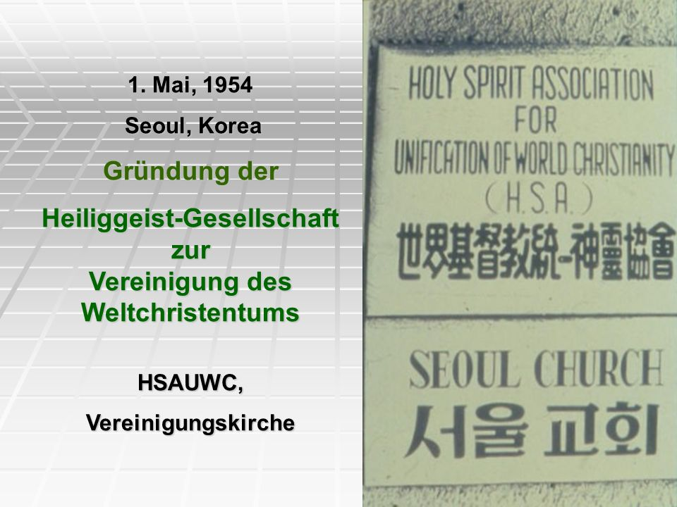 Heiliggeist-Gesellschaft zur Vereinigung des Weltchristentums
