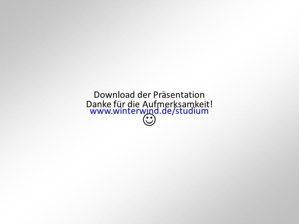  Download der Präsentation Danke für die Aufmerksamkeit!