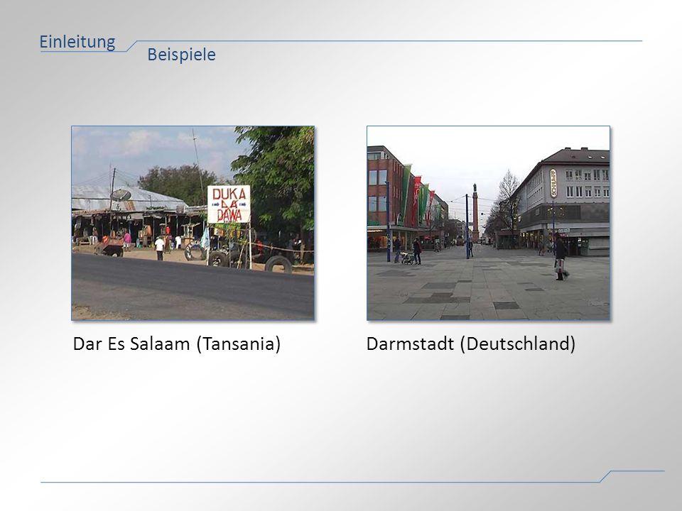 Dar Es Salaam (Tansania) Darmstadt (Deutschland)