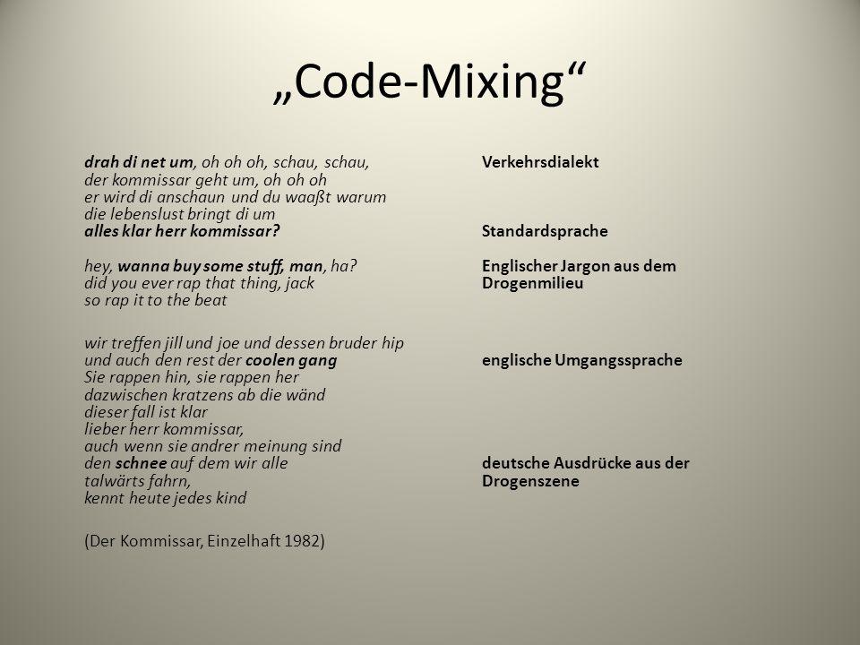 """Code-Mixing"
