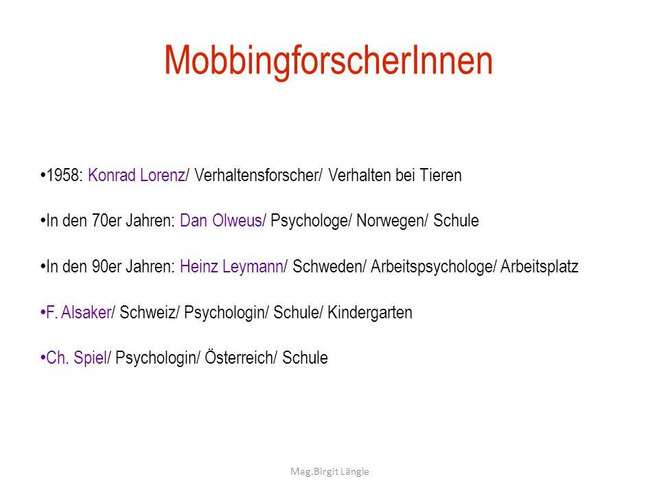 MobbingforscherInnen