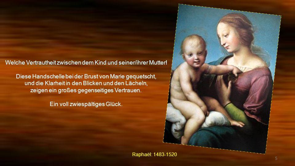 Welche Vertrautheit zwischen dem Kind und seiner/ihrer Mutter!