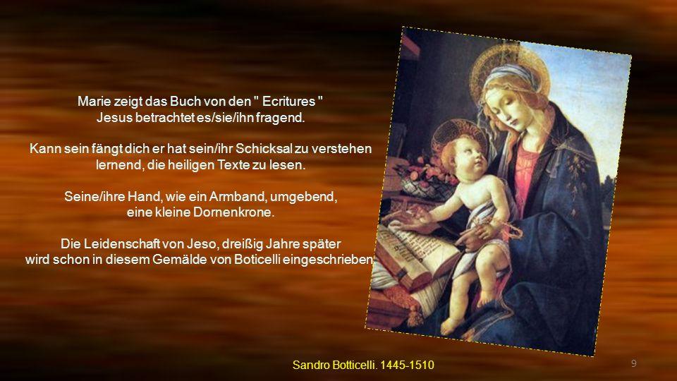 Marie zeigt das Buch von den Ecritures