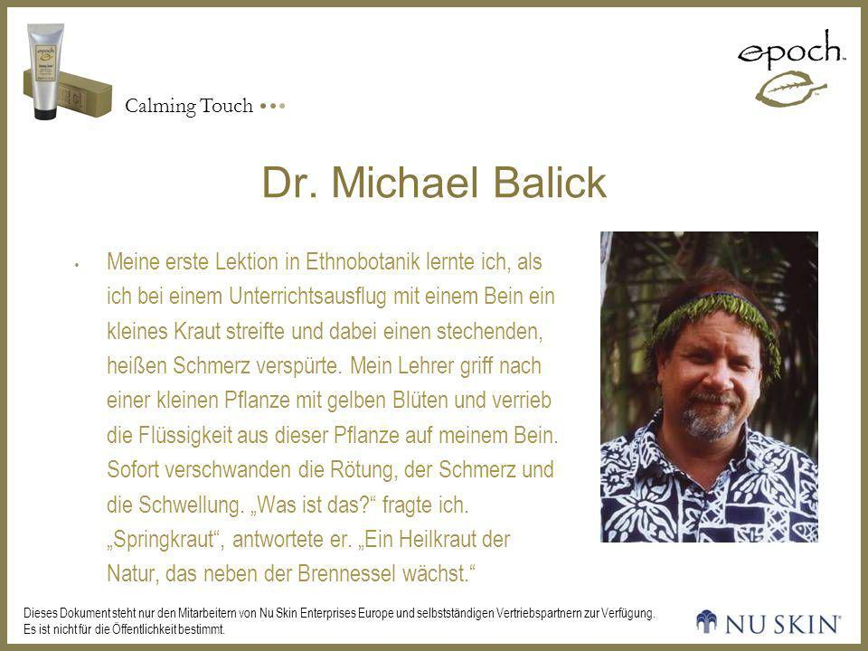 Dr. Michael Balick