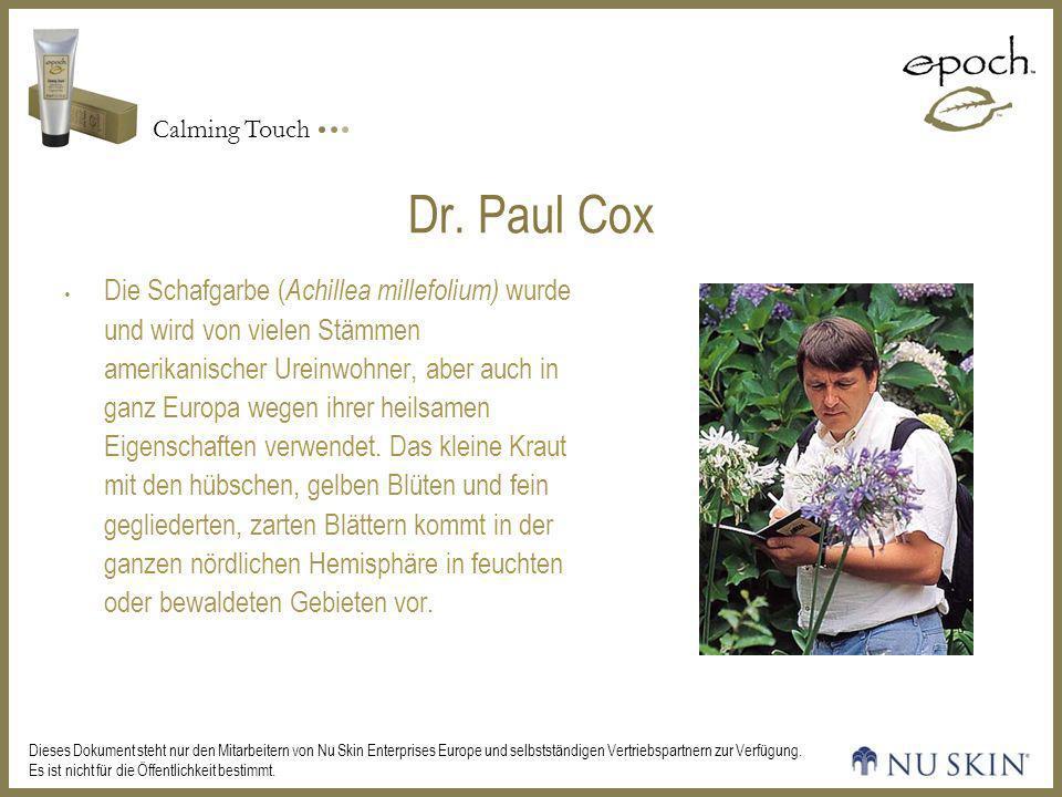 Dr. Paul Cox