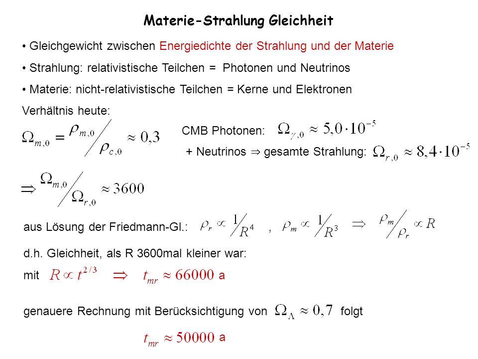 Materie-Strahlung Gleichheit