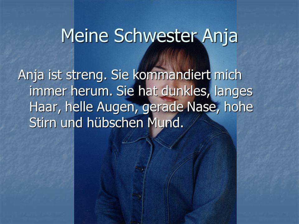 Meine Schwester Anja