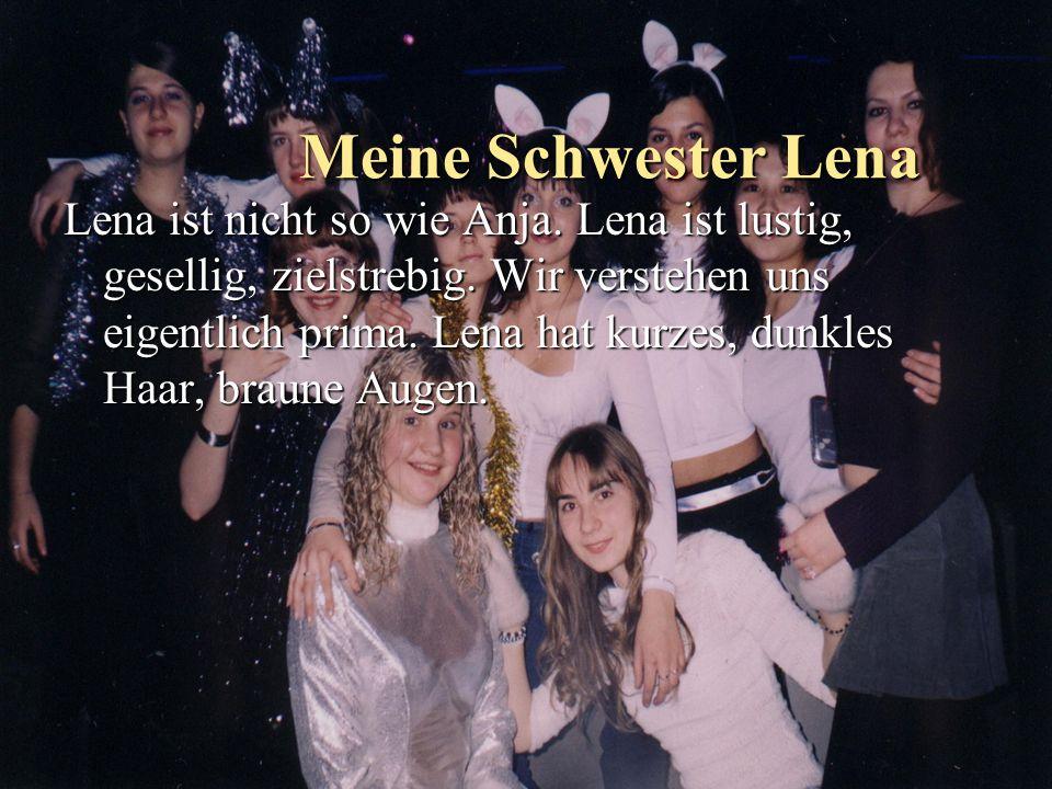 Meine Schwester Lena