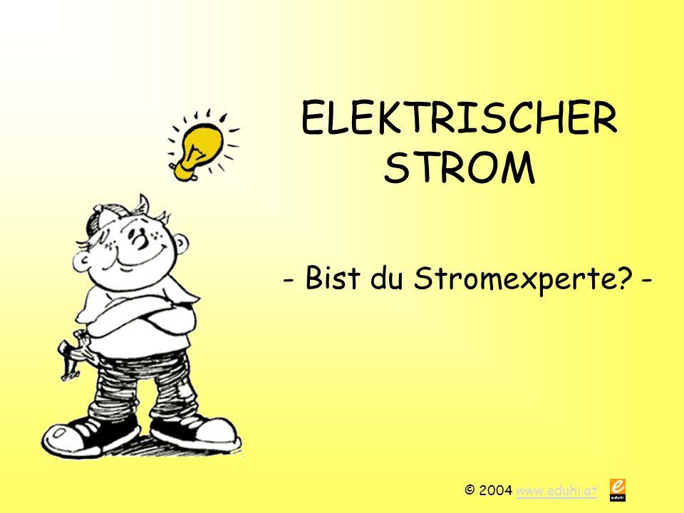 - Bist du Stromexperte -