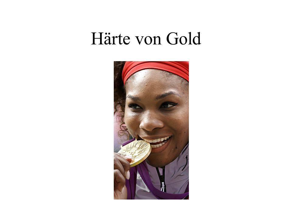 Härte von Gold
