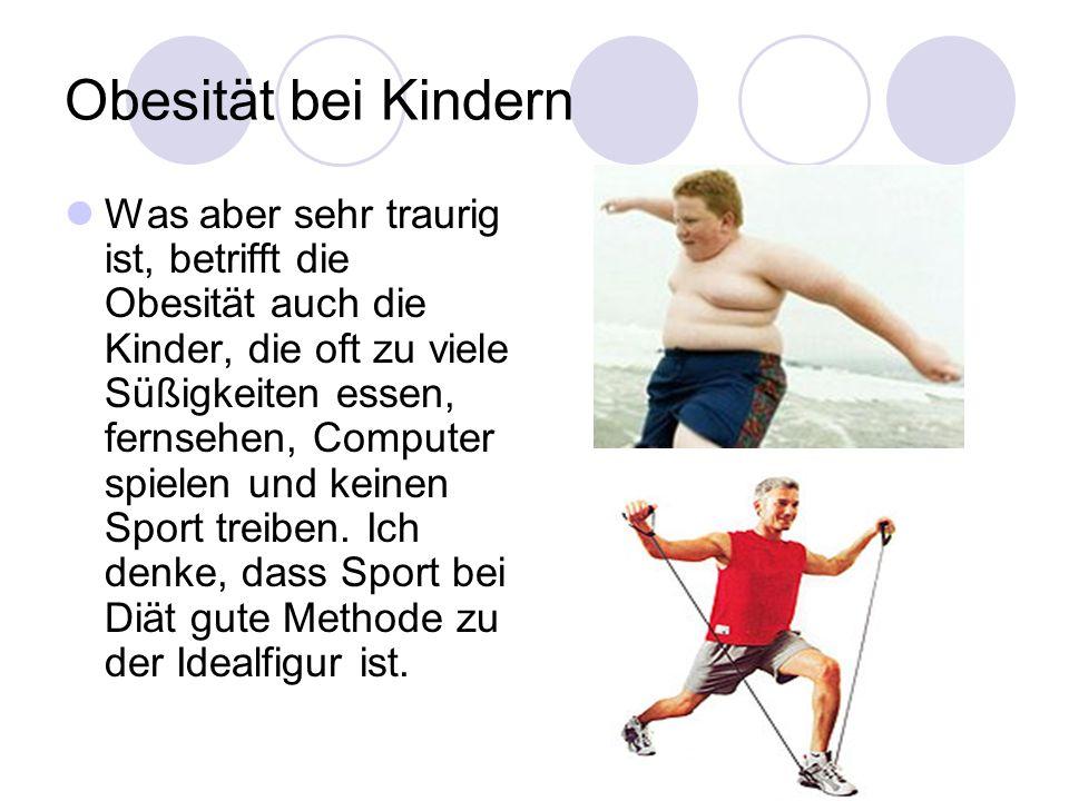 Obesität bei Kindern