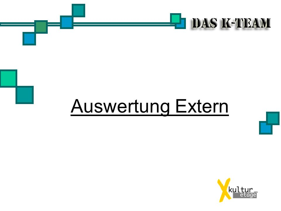 Auswertung Extern