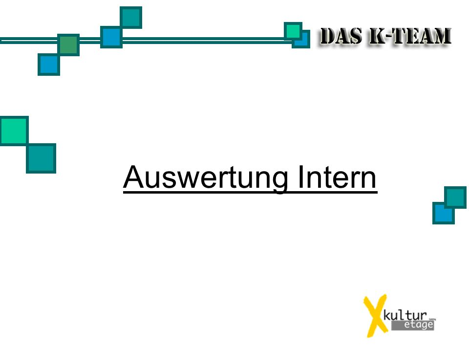 Auswertung Intern