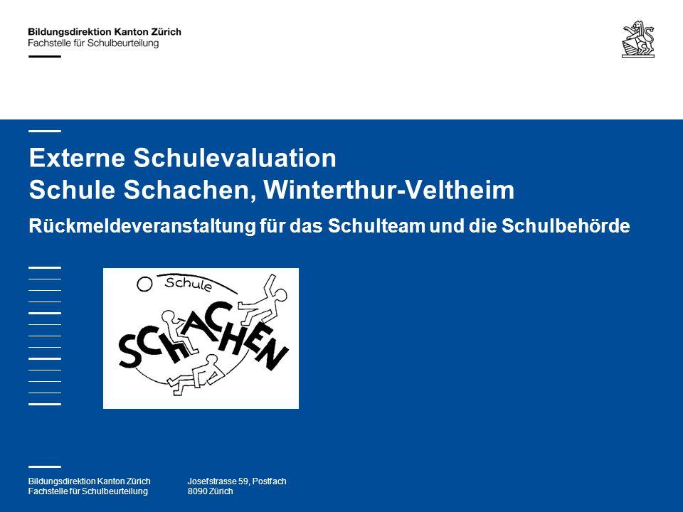 Externe Schulevaluation Schule Schachen, Winterthur-Veltheim