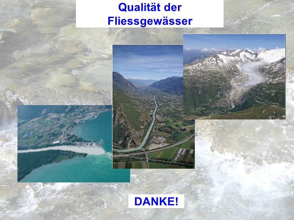 Qualität der Fliessgewässer