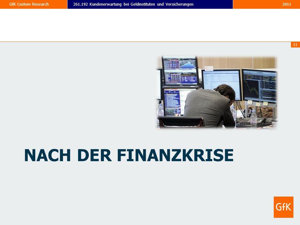 Nach der finanzkrise