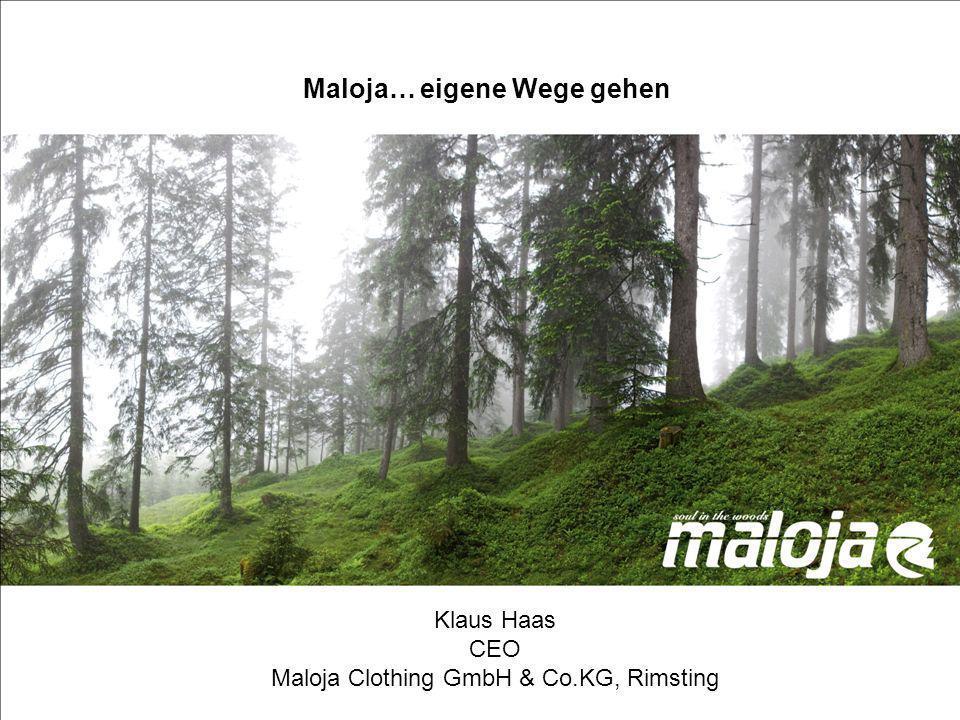 Maloja… eigene Wege gehen Maloja, eigene Wege gehen