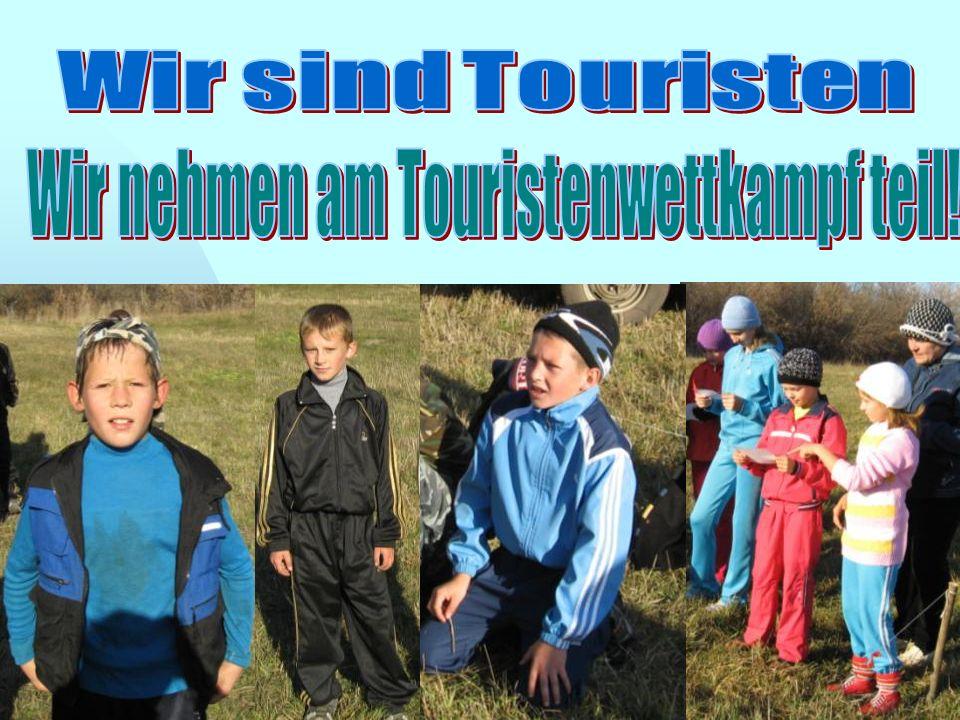 Wir nehmen am Touristenwettkampf teil!
