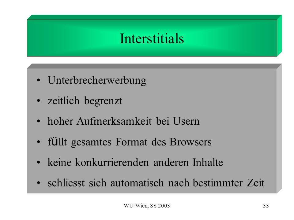 1. Introduction Interstitials Unterbrecherwerbung zeitlich begrenzt