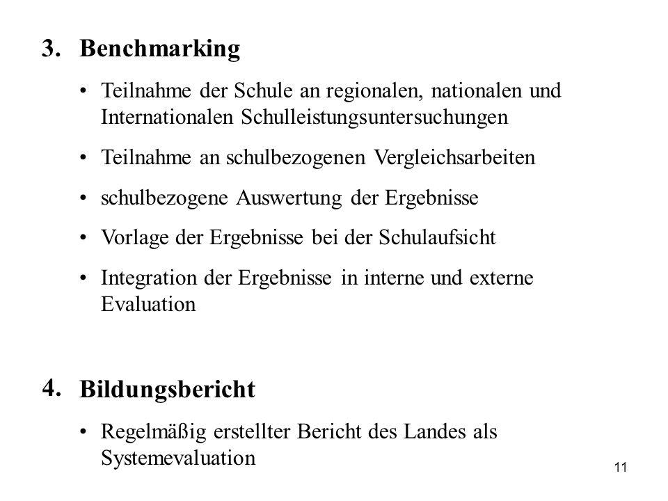 3. Benchmarking Bildungsbericht 4.