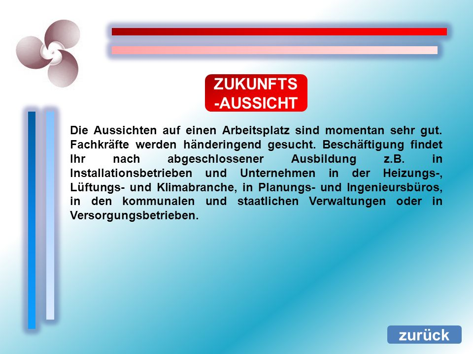 ZUKUNFTS-AUSSICHT zurück