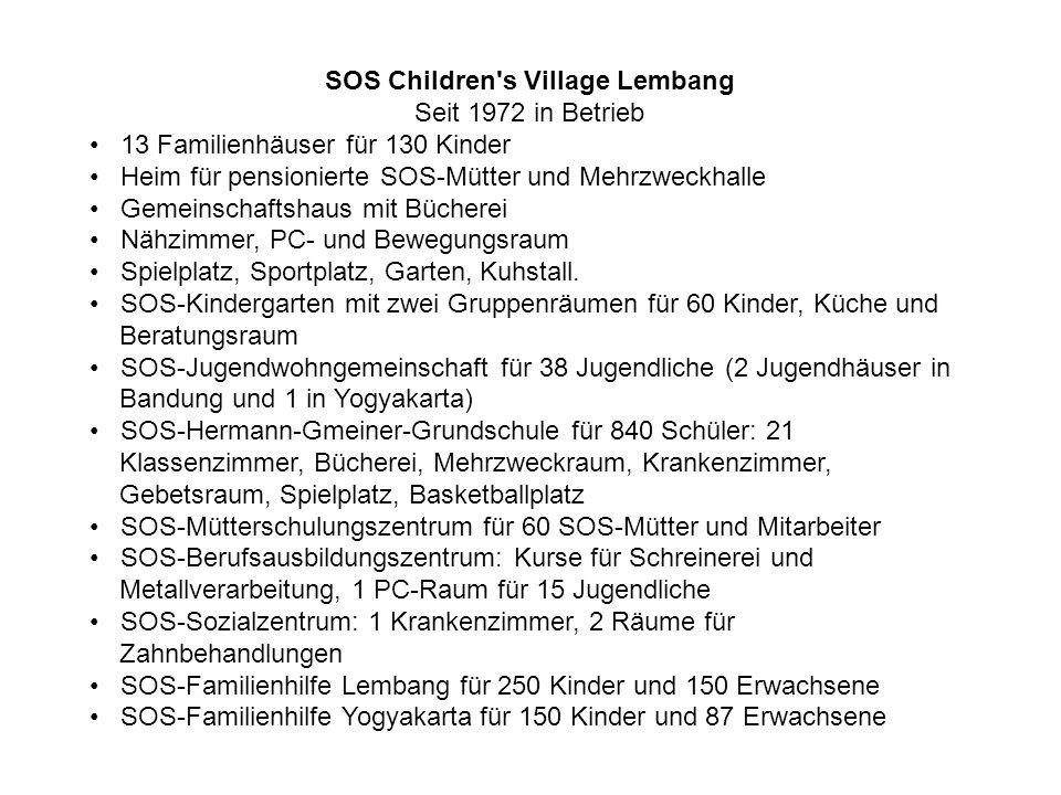 SOS Children s Village Lembang