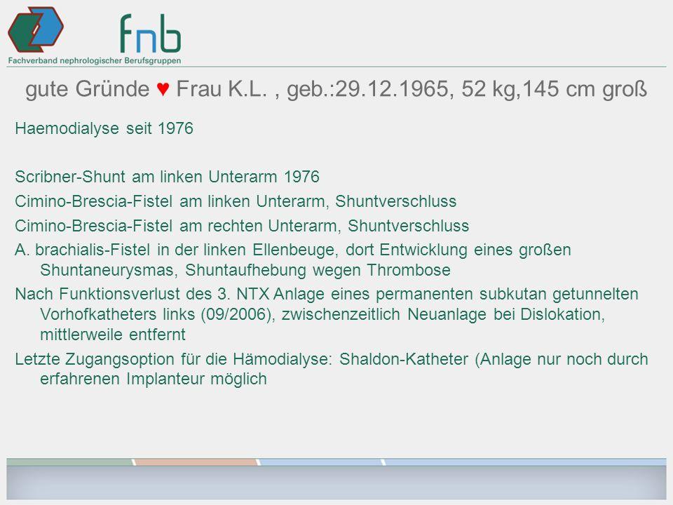 gute Gründe ♥ Frau K.L. , geb.:29.12.1965, 52 kg,145 cm groß