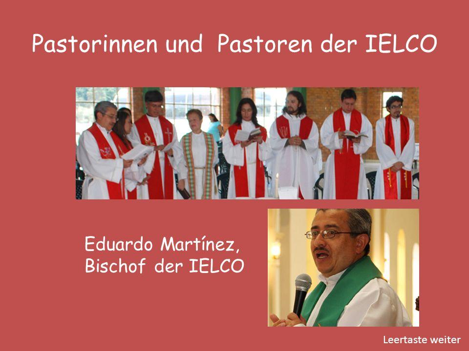 Pastorinnen und Pastoren der IELCO