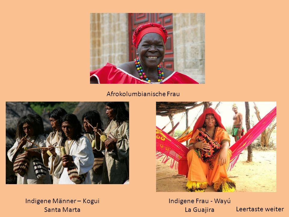 Indigene Männer – Kogui