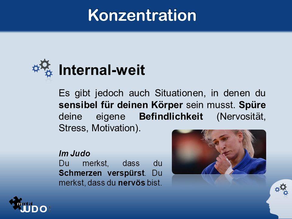 Konzentration Internal-weit